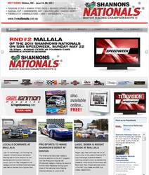 Shannons Nationals new website, with full motorsports news.