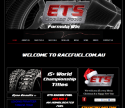 IMS has launched a new Racefuel website focusing on ETS race fuel and oils.