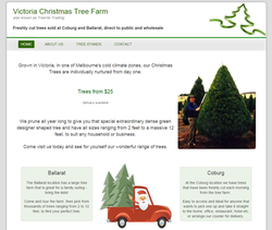 The Victoria Christmas Tree Farm has a new website! Buy Christmas trees and visit the farm.