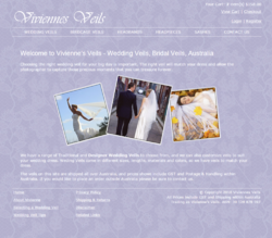 Vivienne's Veils has launched a new look website, including responsive design for a mobile friendly experience.