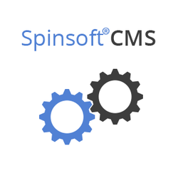 A new update for Spinsoft CMS with new image and file sharing features for products.