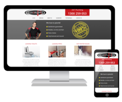 We have launched a new website for Luv2plumb, showcasing their emergency plumbing services.  These guys really love to plumb!