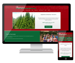 We have launched a new website for Daylesford Christmas Tree Farm in Victoria to promote the amazing trees and great family outing experience.