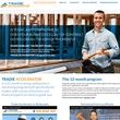 Tradie Accelerator has launched a new website, offering face-to-face training for tradies.